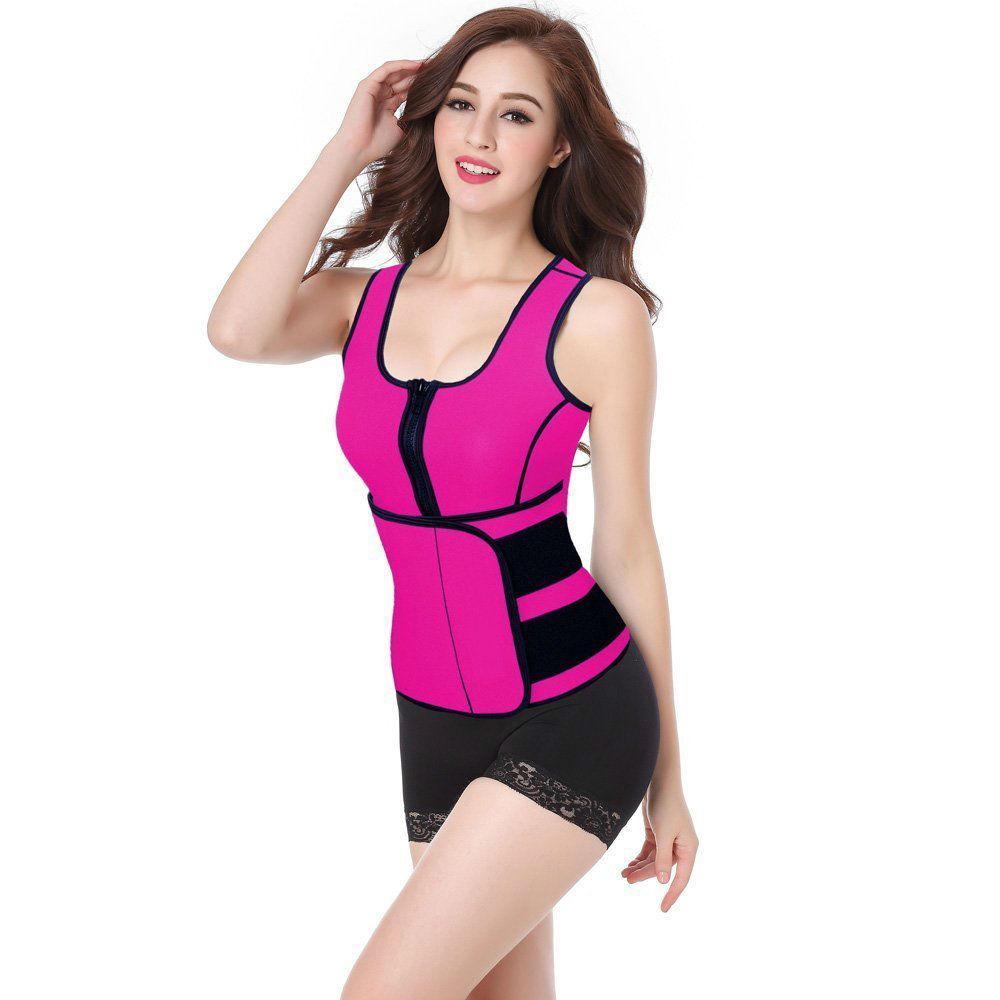 مشد Hot sweat لظبط شكل الجسم