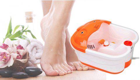 تخلص من آلام قدميك مع جهاز مساج وجاكوزي القدمين