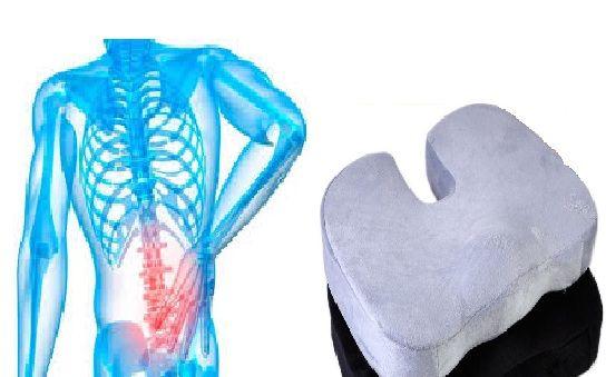 لمحاربة ألم الأنزلاق الغضروفى أستخدم وسادة المقعد الطبيه