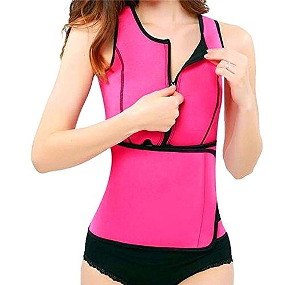 مشد Hot sweat body vest لاخفاء البروز بالجسم